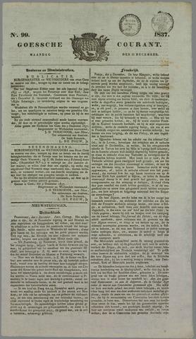 Goessche Courant 1837-12-11