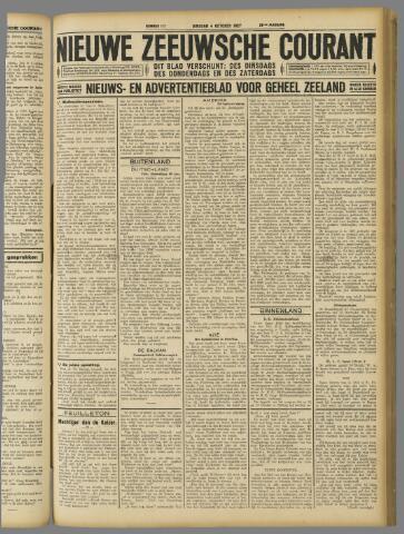 Nieuwe Zeeuwsche Courant 1927-10-04