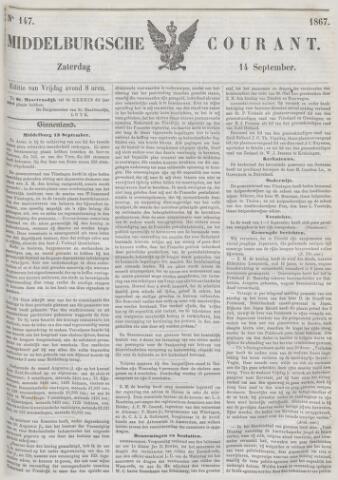 Middelburgsche Courant 1867-09-14
