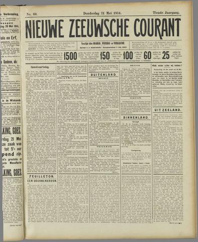 Nieuwe Zeeuwsche Courant 1914-05-21
