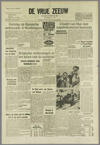 de Vrije Zeeuw 1968-02-22