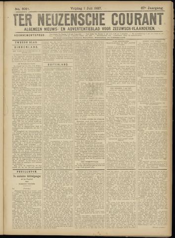 Ter Neuzensche Courant. Algemeen Nieuws- en Advertentieblad voor Zeeuwsch-Vlaanderen / Neuzensche Courant ... (idem) / (Algemeen) nieuws en advertentieblad voor Zeeuwsch-Vlaanderen 1927-07-01