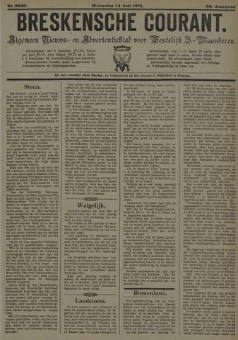 Breskensche Courant 1915-07-14