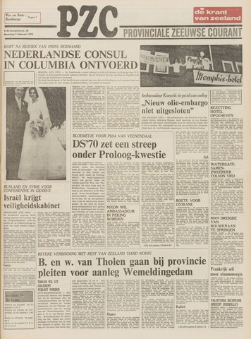 Provinciale Zeeuwse Courant 1975-02-03