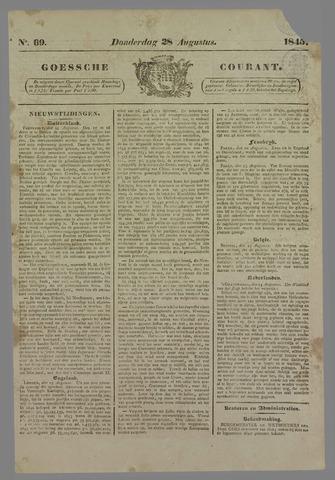 Goessche Courant 1845-08-28