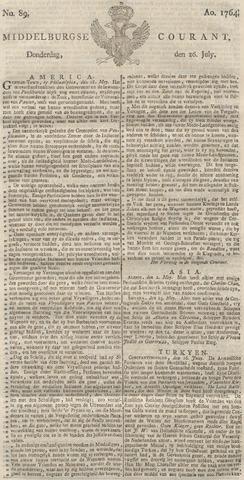 Middelburgsche Courant 1764-07-26