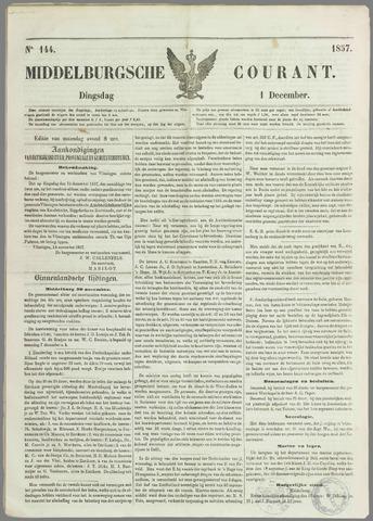 Middelburgsche Courant 1857-12-01