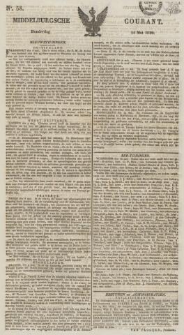 Middelburgsche Courant 1829-05-14
