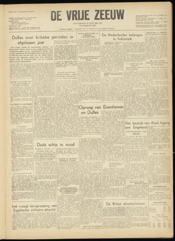 de Vrije Zeeuw 1956-01-12