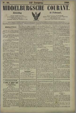 Middelburgsche Courant 1888-02-11