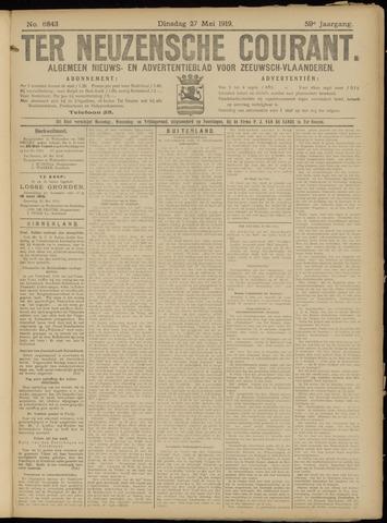 Ter Neuzensche Courant. Algemeen Nieuws- en Advertentieblad voor Zeeuwsch-Vlaanderen / Neuzensche Courant ... (idem) / (Algemeen) nieuws en advertentieblad voor Zeeuwsch-Vlaanderen 1919-05-27
