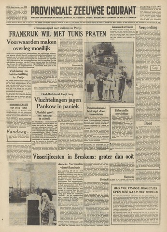 Provinciale Zeeuwse Courant 1961-07-27