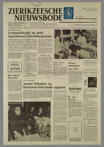 Zierikzeesche Nieuwsbode 1975-11-07