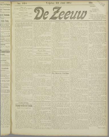 De Zeeuw. Christelijk-historisch nieuwsblad voor Zeeland 1917-06-22