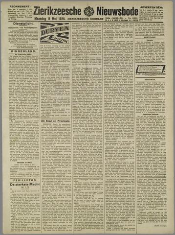 Zierikzeesche Nieuwsbode 1925-05-11