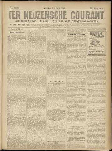 Ter Neuzensche Courant. Algemeen Nieuws- en Advertentieblad voor Zeeuwsch-Vlaanderen / Neuzensche Courant ... (idem) / (Algemeen) nieuws en advertentieblad voor Zeeuwsch-Vlaanderen 1928-06-29