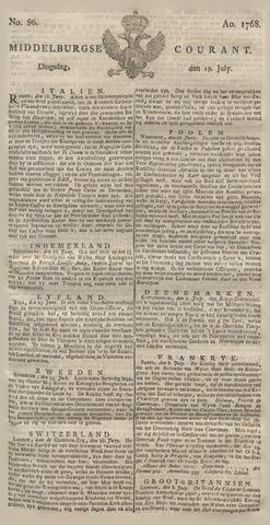 Middelburgsche Courant 1768-07-19