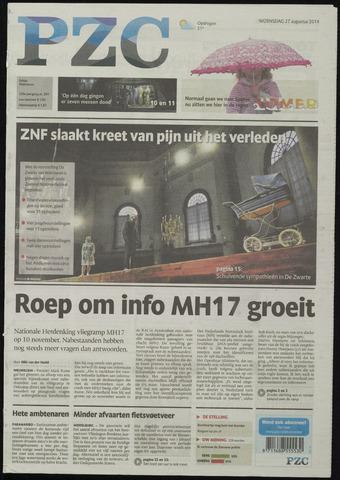 Provinciale Zeeuwse Courant 2014-08-27