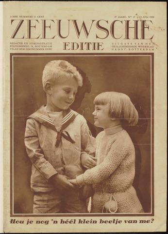 Ons Zeeland / Zeeuwsche editie 1930-07-11
