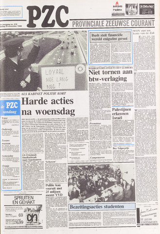 Provinciale Zeeuwse Courant 1988-11-15