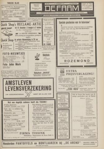 de Faam en de Faam/de Vlissinger 1962-11-30