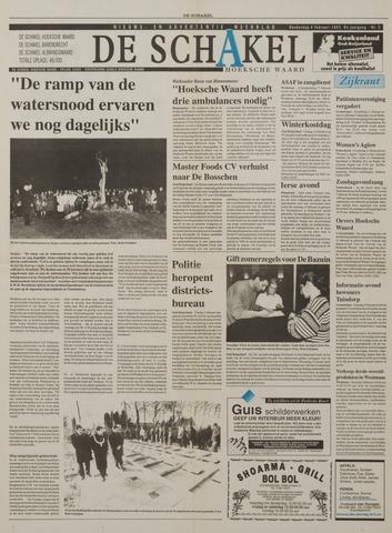 Watersnood documentatie 1953 - kranten 1993-02-04