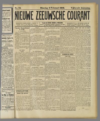 Nieuwe Zeeuwsche Courant 1919-02-04