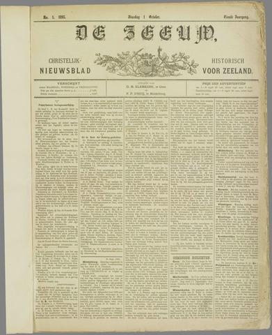 De Zeeuw. Christelijk-historisch nieuwsblad voor Zeeland 1895-10-01