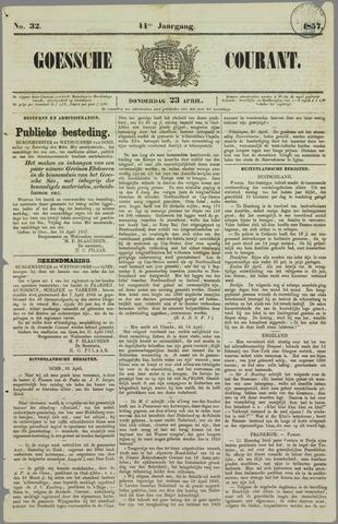 Goessche Courant 1857-04-23