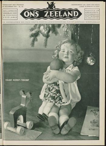 Ons Zeeland / Zeeuwsche editie 1931-12-25