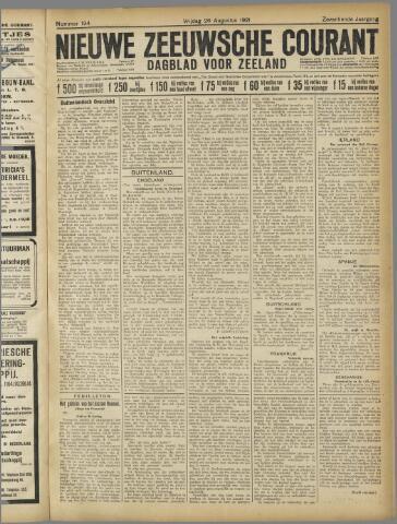 Nieuwe Zeeuwsche Courant 1921-08-26