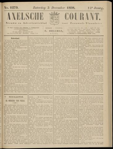 Axelsche Courant 1898-12-03