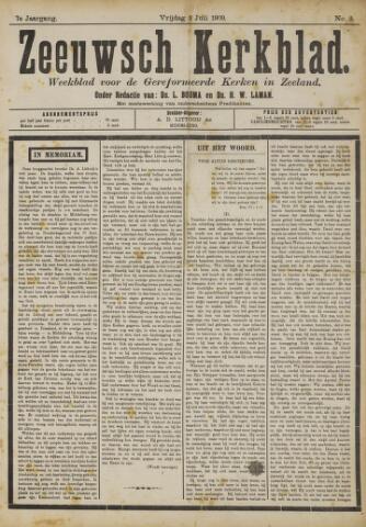 Zeeuwsche kerkbode, weekblad gewijd aan de belangen der gereformeerde kerken/ Zeeuwsch kerkblad 1909-07-02