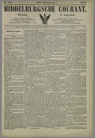 Middelburgsche Courant 1887-08-09