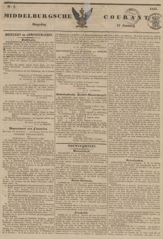 Middelburgsche Courant 1843-01-17