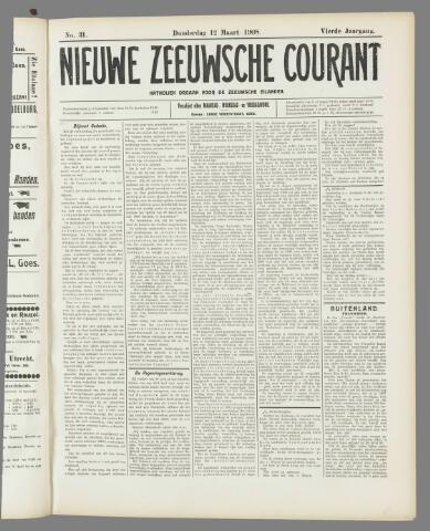 Nieuwe Zeeuwsche Courant 1908-03-12