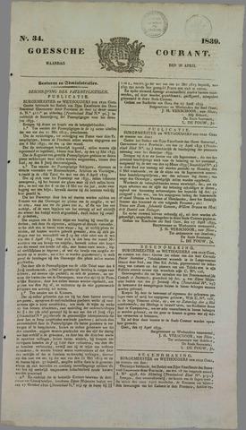 Goessche Courant 1839-04-29