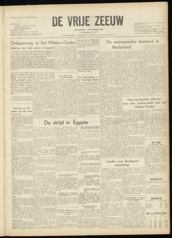 de Vrije Zeeuw 1956-11-07