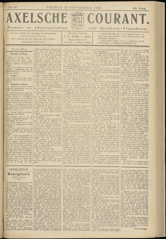 Axelsche Courant 1929-09-27
