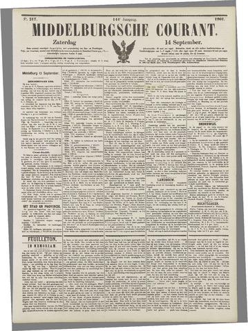 Middelburgsche Courant 1901-09-14