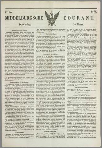 Middelburgsche Courant 1871-03-30