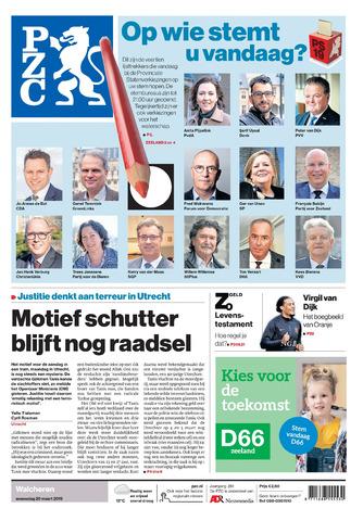 Provinciale Zeeuwse Courant 2019-03-20