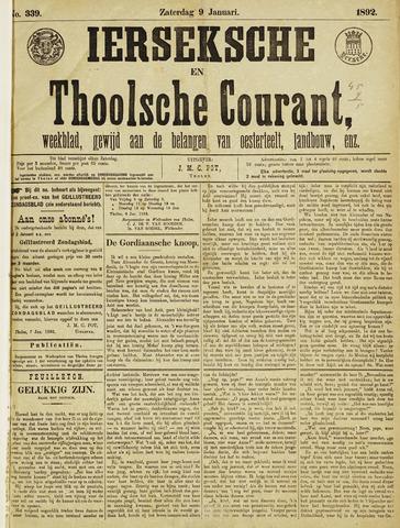 Ierseksche en Thoolsche Courant 1892