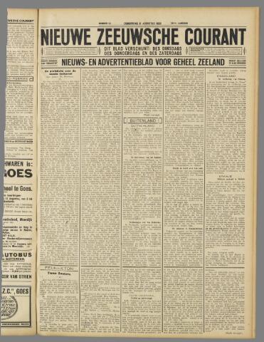 Nieuwe Zeeuwsche Courant 1932-08-11