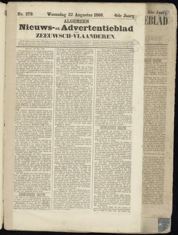 Ter Neuzensche Courant. Algemeen Nieuws- en Advertentieblad voor Zeeuwsch-Vlaanderen / Neuzensche Courant ... (idem) / (Algemeen) nieuws en advertentieblad voor Zeeuwsch-Vlaanderen 1866-08-22