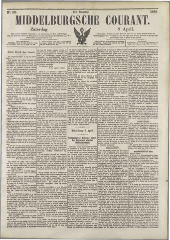Middelburgsche Courant 1899-04-08