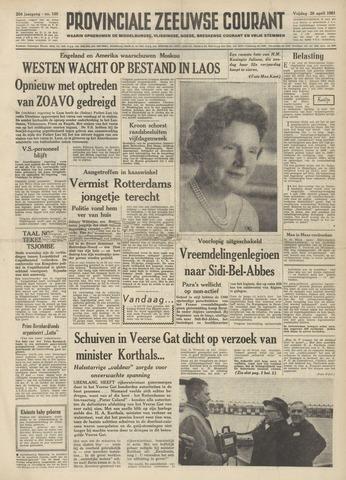 Provinciale Zeeuwse Courant 1961-04-28