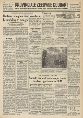 Provinciale Zeeuwse Courant 1952-09-18