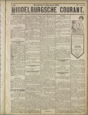 Middelburgsche Courant 1922-08-09