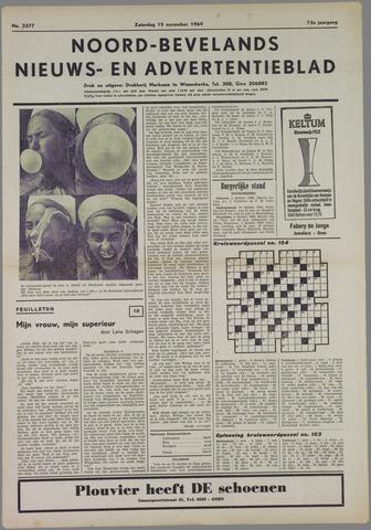 Noord-Bevelands Nieuws- en advertentieblad 1969-11-15